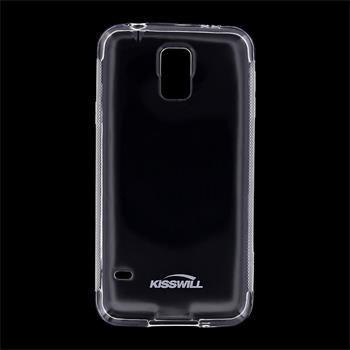 Puzdro silikonové Kisswill pre Samsung Galaxy S5 - G900 a S5 Neo - G903, Transparent