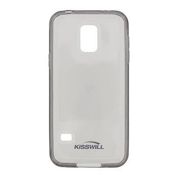 Puzdro silikonové Kisswill pre Samsung Galaxy S5 mini - G800, Black