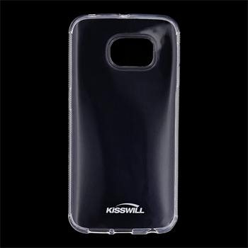Puzdro silikonové Kisswill pre Samsung Galaxy S6 Edge - G925F, Transparent