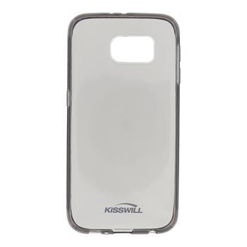 Puzdro silikonové Kisswill pre Samsung Galaxy S6 - G920F, Black