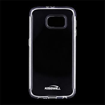 Puzdro silikonové Kisswill pre Samsung Galaxy S6 - G920F, Transparent