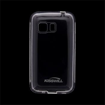 Puzdro silikonové Kisswill pre Samsung Galaxy Young 2 - G130, Transparent