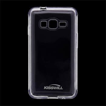 Puzdro silikonové Kisswill pre Samsung Galaxy Z1 - Z130H, Transparent