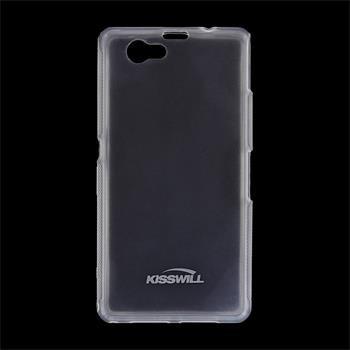 Puzdro silikonové Kisswill pre Sony Xperia Z1 Compact - D5503, Transparent