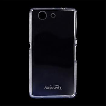 Puzdro silikonové Kisswill pre Sony Xperia Z3 Compact - D5803, Transparent