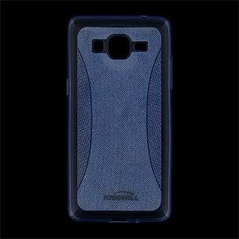 Puzdro silikonové Kisswill Shine pre Samsung Galaxy Grand Prime - G530F a Prime VE - G531F, Blue