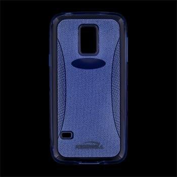 Puzdro silikonové Kisswill Shine pre Samsung Galaxy S5 mini - G800, Blue