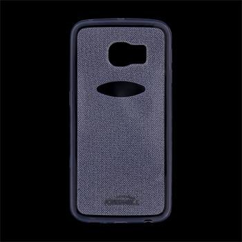 Puzdro silikonové Kisswill Shine pre Samsung Galaxy S6 Edge - G925F, Blue