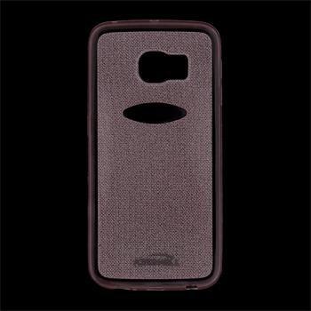 Puzdro silikonové Kisswill Shine pre Samsung Galaxy S6 Edge - G925F, Pink
