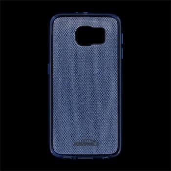Puzdro silikonové Kisswill Shine pre Samsung Galaxy S6 - G920F, Blue