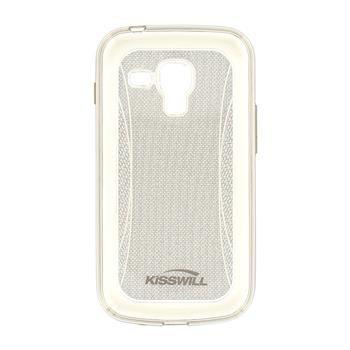 Puzdro silikonové Kisswill Shine pre Samsung Galaxy S7560/S7562/S7580/S7582, Grey