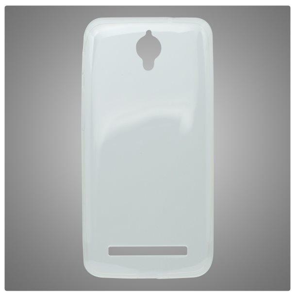 Puzdro silikonové pre Asus Zenfone C - ZC451CG, Transparent