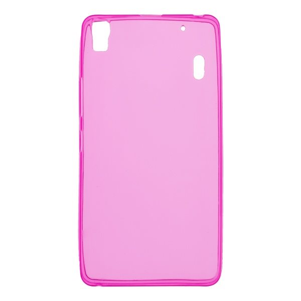 Puzdro silikonové pre Lenovo A7000, Pink