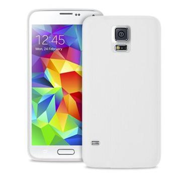 Puzdro silikonové PURO pre Samsung Galaxy S5 - G900, Samsung Galaxy S5 Neo - G903, Transparent