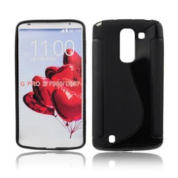 Puzdro silikonové S-TYPE pre LG G Pro Lite Dual - D686, Black