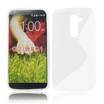 Puzdro silikonové S-TYPE pre LG G2 MINI - D620r, White