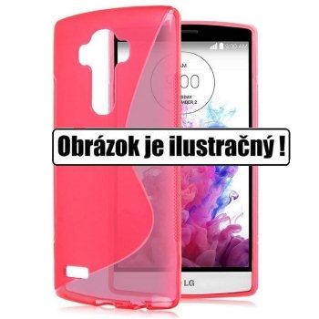 Puzdro silikonové S-TYPE pre LG G4c - H525n, Pink