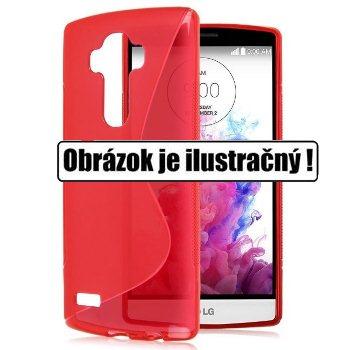 Puzdro silikonové S-TYPE pre LG G4c - H525n, Red