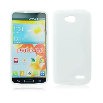 Puzdro silikonové S-TYPE pre LG L90 - D405n, Red