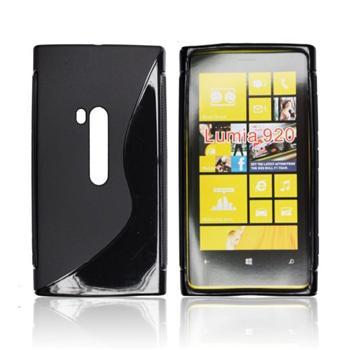 Puzdro silikonové S-TYPE pre Nokia Lumia 930, Transparent