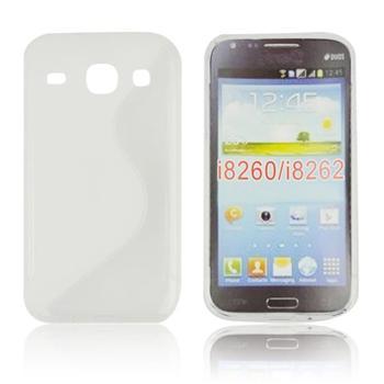 Puzdro silikonové S-TYPE pre Samsung Galaxy Core 4G - G3518, Black