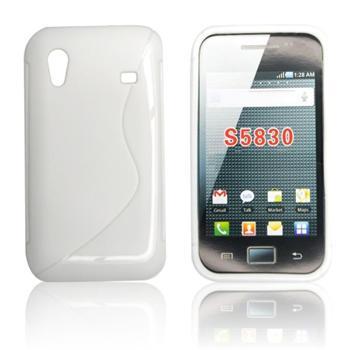 Puzdro silikonové S-TYPE pre Samsung Galaxy Music - S6010 a S6012, Black
