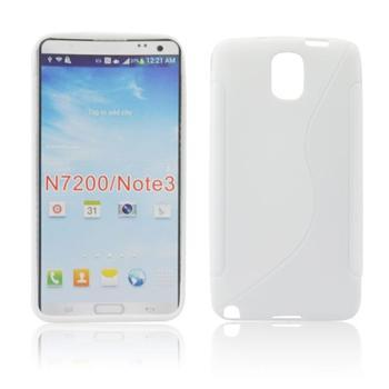Puzdro silikonové S-TYPE pre Samsung Galaxy Note 3 Neo - N7505 a N7500, White