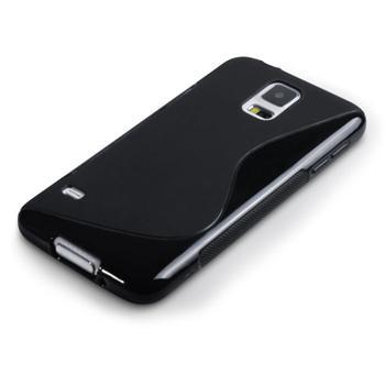 Puzdro silikonové S-TYPE pre Samsung Galaxy S6 Edge - G925F, Black