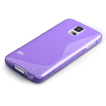 Puzdro silikonové S-TYPE pre Samsung Galaxy S6 Edge - G925F, Violet