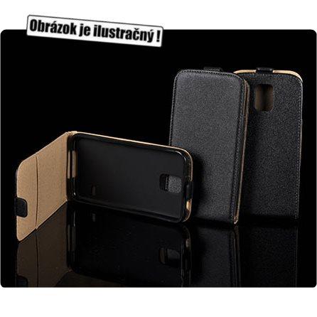 Puzdro Slim Flip 2 pre Huawei Ascend Y600, Black