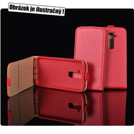 Puzdro Slim Flip 2 pre Huawei P8 Lite, Red