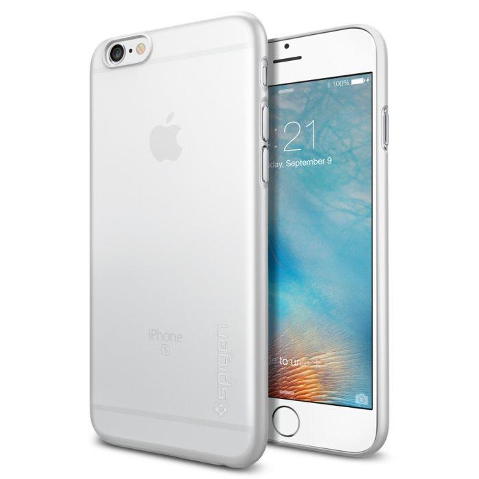 Púzdro Spigen Air Skin Apple iPhone 6/6S Soft Clear