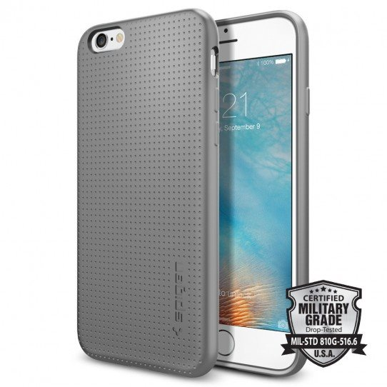 Puzdro Spigen Capsule pre Apple iPhone 6, Apple iPhone 6S, Grey