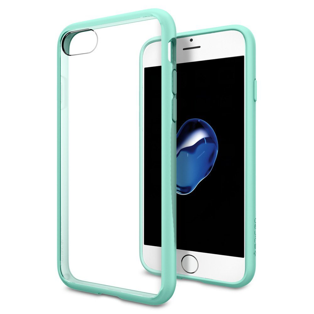 Puzdro Spigen Ultra Hybrid pre Apple iPhone 7 a iPhone 8, Mint 042CS20447