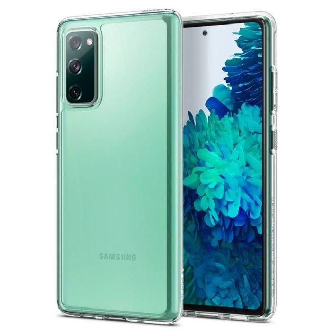 Puzdro Spigen Ultra Hybrid pre Samsung Galaxy S20 FE - G780F, clear