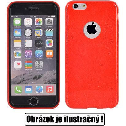 Puzdro ultra tenké Candy Case pre Huawei P8 Lite, Red
