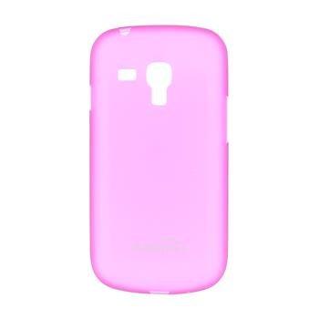 Puzdro ultra tenké Kisswill pre Samsung Galaxy S3 Mini - i8190 a S3 Mini VE, Pink