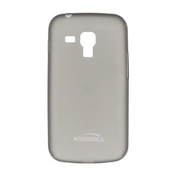 Puzdro ultra tenké Kisswill pre Samsung Galaxy S7560/S7562/S7580/S7582, Black