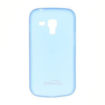 Puzdro ultra tenké Kisswill pre Samsung Galaxy S7560/S7562/S7580/S7582, Blue