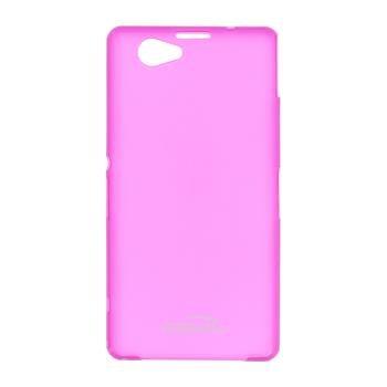 Puzdro ultra tenké Kisswill pre Sony Xperia Z1 Compact - D5503, Pink
