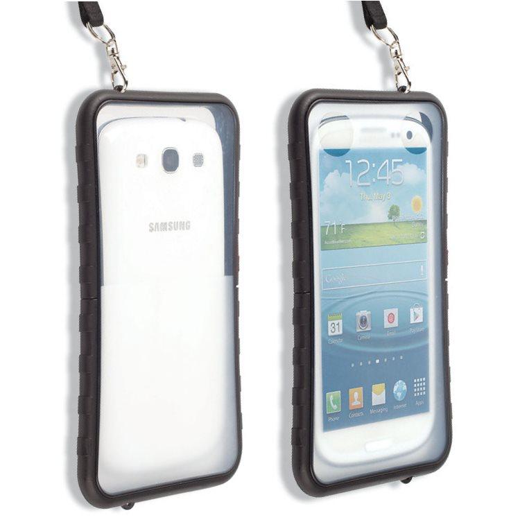 Puzdro vodotesné Krusell SEaLABox pre Alcatel OneTouch 7044X Pop 2 (5) Premium, Black
