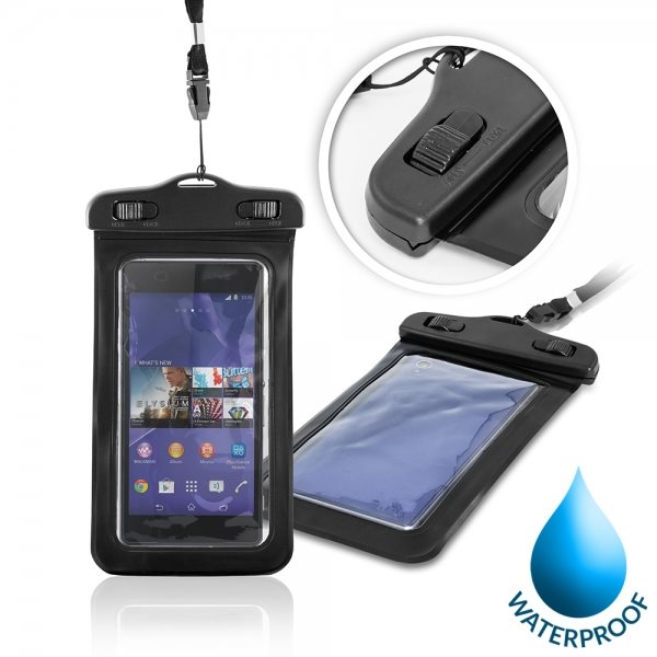 Puzdro WatterProofCase pre Alcatel OneTouch 6039Y Idol 3 (4.7), Black