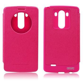 Puzdro WOW Mercury pre LG G4 - H815, Pink