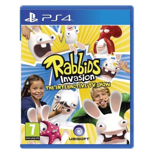 Rabbids Invasion: The Interactive TV Show [PS4] - BAZÁR (použitý tovar)