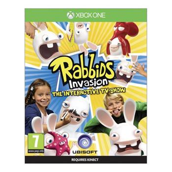 Rabbids Invasion: The Interactive TV Show [XBOX ONE] - BAZÁR (použitý tovar)