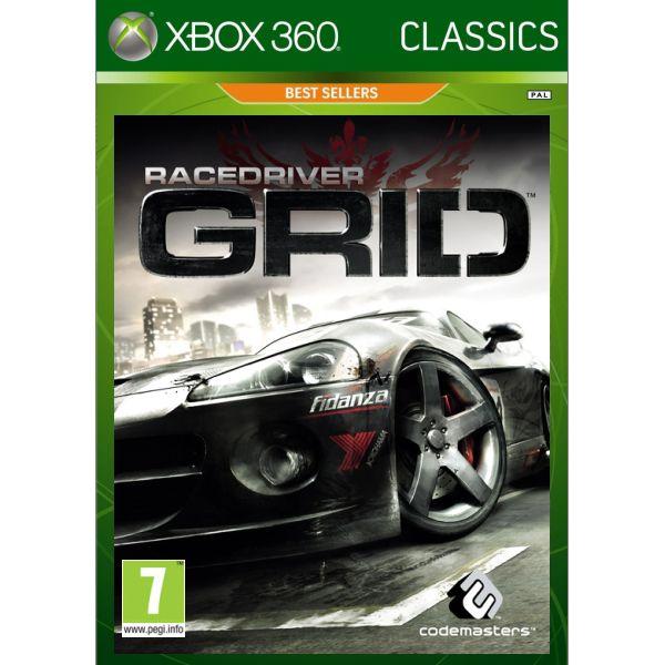 Race Driver GRID - XBOX 360- BAZÁR (použitý tovar)