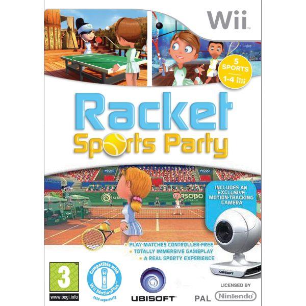 Racket Sports Party + kamera