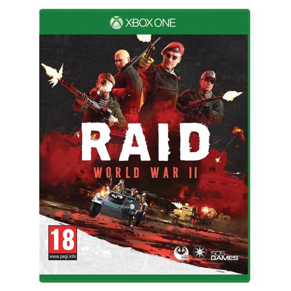 Raid: World War 2 [XBOX ONE] - BAZÁR (použitý tovar)
