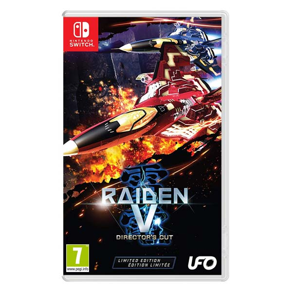 Raiden 5: Director's Cut (Limited Edition) NSW