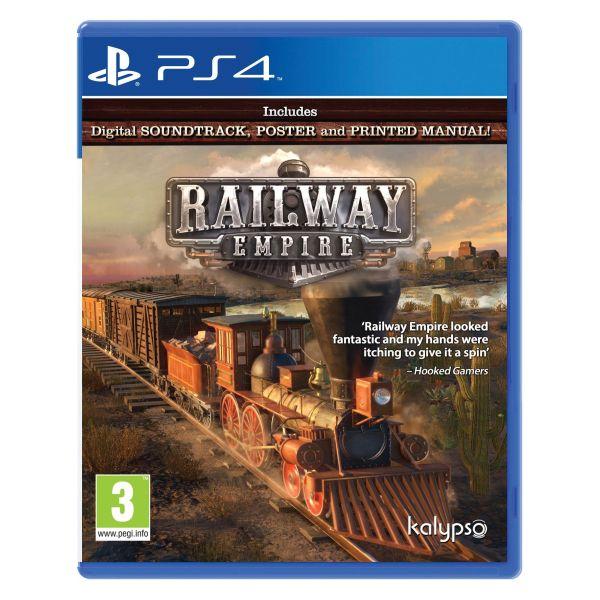 Railway Empire [PS4] - BAZÁR (použitý tovar)